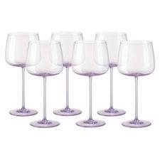 "Набор бокалов для красного вина Rosenthal ""Турандот"" 280мл (розовый), 6шт"