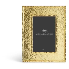 "Рамка для фото Michael Aram ""Текстура"" 16,5х21,5см (золотист.)"