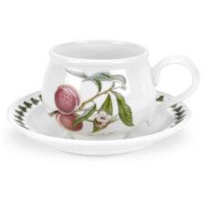 "Чашка для завтрака с блюдцем Portmeirion ""Помона.Персик"" 270мл"