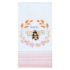 "Полотенце кухонное махровое Kay Dee Designs ""Пчелки. Королева-пчела"" 40*66см, хлопок"