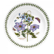 Тарелка обеденная Portmeirion Ботанический сад.Клематис 25см, фарфор