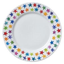 """Тарелка закусочная Dunoon """"Звёздная пыль"""" 22см"""