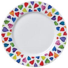"""Тарелка закусочная Dunoon """"Добрые сердца"""" 22см"""