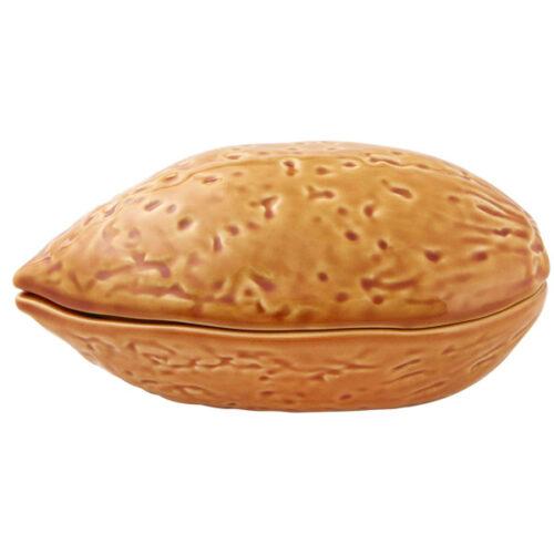 """Блюдо для горячего с крышкой Bordallo Pinheiro """"Орехи. Миндаль"""" 17см"""