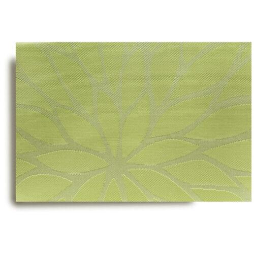 """Салфетка подстановочная 48х33см """"Цветочный жаккард"""", зеленый"""