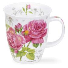 """Кружка Dunoon """"Цветочный эскиз.Розы.Невис"""" 480мл"""