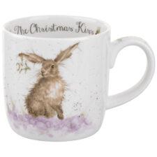 "Кружка Royal Worcester ""Забавная фауна"",""Рождественский поцелуй""  (Зайчик) 310мл"