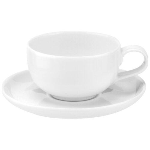 """Чашка кофейная с блюдцем Portmeirion """"Выбор Портмейрион"""" 100мл (белая)"""