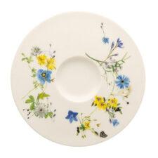 """Блюдце для чашки чайной 16см """"Альпийские цветы"""""""