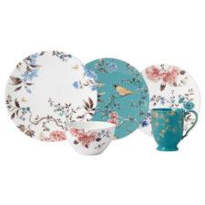 """Сервиз чайно-столовый Lenox """"Цветущая лоза"""" на 4 персоны 20 предметов, п/к"""