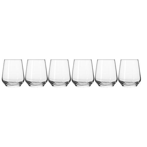 Набор стаканов для воды Krosno Великолепие 400мл, 6 шт
