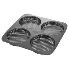 Форма для выпечки 4 булочек для бургеров Birkmann 28х28см