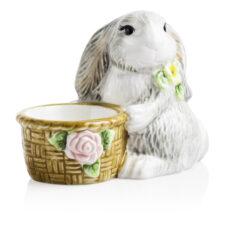 """Подставка для яиц 3D Certified Int. """"Милый кролик"""" 8см"""