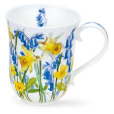 """Кружка Dunoon """"Загородные цветы в жёлтых тонах.Бремор"""" 330мл"""