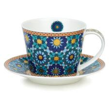 """Чашка чайная с блюдцем Dunoon """"Иштар.Айлей"""" 350мл"""