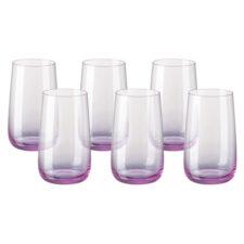 """Набор бокалов для воды Rosenthal """"Турандот"""" 400мл (розовый), 6шт"""