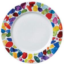 "Тарелка закусочная Dunoon ""Яркие краски"" 22см"