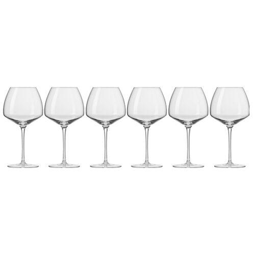 """Набор бокалов для красного вина Krosno""""Винотека.Бургундское"""" 850мл,6 шт"""