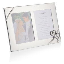 """Рамка для фото двойная Lenox """"Настоящая любовь"""" 32Х23см"""