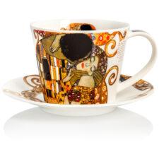 """Чашка чайная с блюдцем Dunoon """"Бель Эпок.Айлей"""" 350мл"""