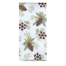 """Полотенце кухонное махровое Kay Dee Designs """"Зимние радости. Еловые шишки"""" 40*66см, хлопок"""