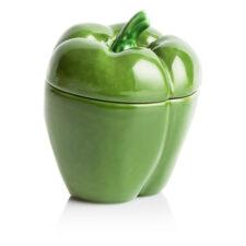 """Емкость с крышкой Bordallo Pinheiro """"Перец"""" 12,5см, зеленый"""
