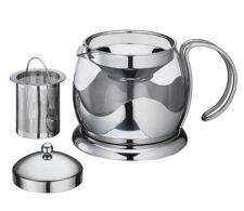 Чайник заварочный с ситечком, 1,25 л, стекло Kuchenprofi