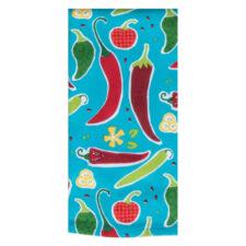 "Полотенце кухонное махровое Kay Dee Designs ""Перцы"" 40х66см, хлопок"