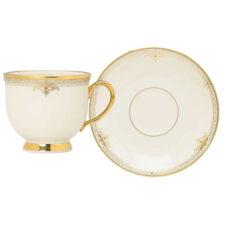 """Чашка чайная с блюдцем Lenox """"Республика"""" 180мл"""