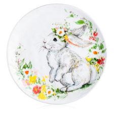 """Тарелка обеденная Certified Int. """"Милый кролик"""" 28см,керамика"""