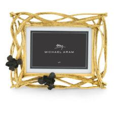 Рамка для фото Michael Aram Черный ирис 24х19см, сталь нержавеющая