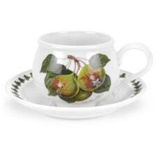 """Чашка для завтрака с блюдцем Portmeirion """"Помона.Груша"""" 270мл"""
