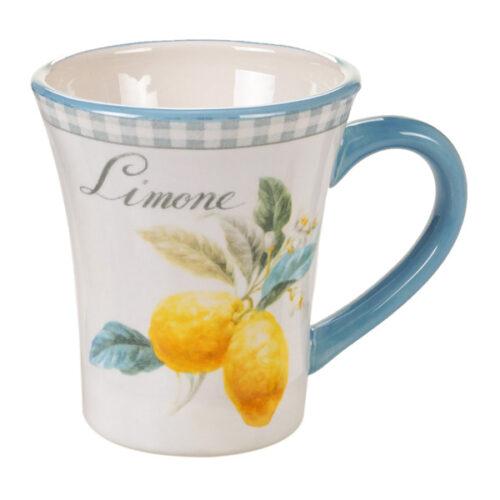"Кружка Certified Int. ""Лимоны"" 410мл (Limone)"