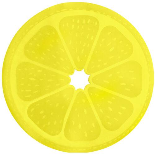 Салфетка подстановочная круглая 38см, лимон