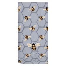 """Полотенце кухонное махровое Kay Dee Designs """"Пчелки. Пчелы везде"""" 40*66см, хлопок"""