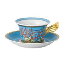 """Чашка чайная с блюдцем 220мл """"Сокровища моря"""""""