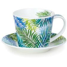 """Чашка с блюдцем Dunoon """"Пальмовая ветвь.Айлей"""" 350мл"""