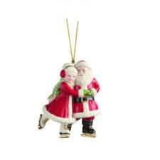 """Украшение новогоднее Lenox """"Санта.Фигурное катание"""" 9,5см"""