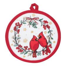 """Прихватка Kay Dee Designs """"Красный кардинал"""" 20см, хлопок"""