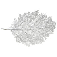 "Салфетка подстановочная 30х45см ""Листья"", серебро"