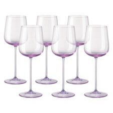"Набор бокалов для белого вина Rosenthal ""Турандот"" 260мл (розовый), 6шт"