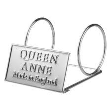 Подставка-логотип Queen Anne одинарная, сталь
