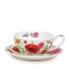 """Чашка чайная с блюдцем Dunoon """"Дикий сад"""" 250мл"""
