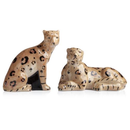 """Набор для соли и перца 3D Certified Int. """"Экзотические джунгли.Леопарды"""", (2пр)"""
