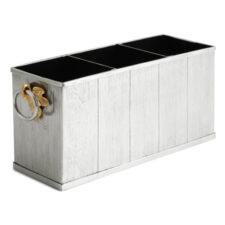 """Подставка для столовых приборов Michael Aram """"Плющ и дуб"""" 27x8x10см"""