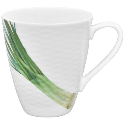 """Кружка Noritake """"Овощной букет.Зелёный лук"""" 295мл"""