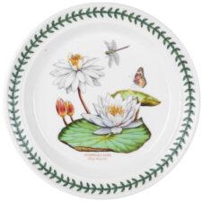 """Тарелка обеденная Portmeirion """"Ботанический сад.Экзотические цветы. Лилия"""" 25см"""