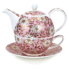 """Набор чайный Dunoon """"Ромашки.Эгоист"""" 500мл (розовый)"""