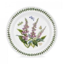 Тарелка обеденная Portmeirion Ботанический сад.Наперстянка 25см, фарфор