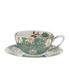 """Чашка чайная с блюдцем Dunoon """"Нуово"""" 250мл"""